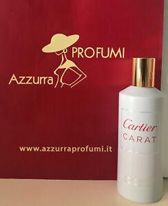 Cartier Carat Perfumed Mist 100 ml Spray Senza Scatola