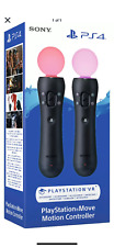 Sony PS Motion Move Controller Twin Pack - BNIB - PS4 Free Shipping