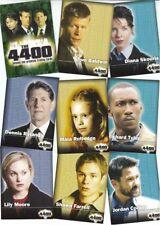The 4400 Season 1 (One) - 72 Card Basic/Base Set - Inkworks 2006