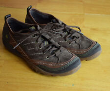 Merrell womens size 7 brown suede walking athletic shoe EUC