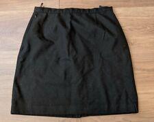 Girls Black School Skirt Width 28 Length 18 trutex