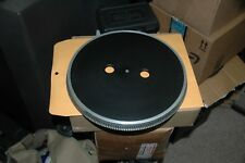 JVC JL-A40  FACTORY PLATTER WITH MAT AND TIMING PLATE* NICE*