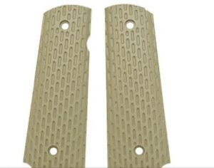 WE-TECH airsoft custom combat tactical Tan 1911 pistol grips