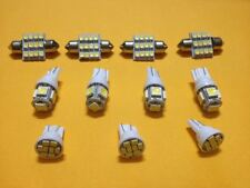 Use For Dome/Map/Door/Glove Box/License Plates Etc 11pcs xenon White LED Lights