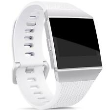 Smartwatch Fitness Armband edelstahl grau Magnet-Loop für FitBit Ionic
