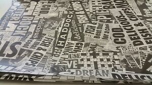 Greaseproof paper, News print Design Fish and chip takeaway,Newspaper Free P&P