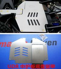 Rear end skid plate battery door front bumper for Traxxas UDR