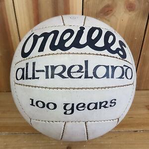 Oneills Gaelic Football Size 5 All Ireland Ball 100 Years See Photos GAA Games