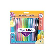 Paper Mate stylos Feutre Flair - Pointe moyenne … Auc3501179510293