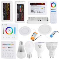 MiLight Wifi RGBW RGB Bulb Lamp 2.4G LED Dimmer Strip Light Controller Remote GL