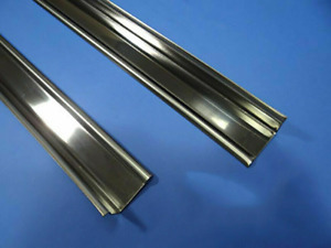 """Angle Strips 80"""" Stainless Steel Chevy Chevrolet Ford Dodge GMC Pickup Truck"""