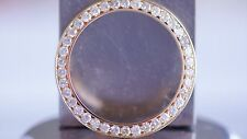 3.6CT Diamond Bezel for Rolex Date just II & Day Date Presidential in 14K YG