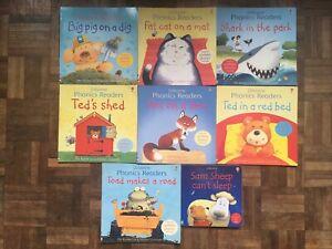 Usborne Phonics Readers books, learn to read