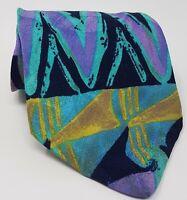 Cravatta byblos 100% pura seta tie made in italy original handmade vintage