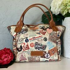 WDW Disney Dooney & Bourke 40th Anniversary XL Kristen shoulder bag purse tote