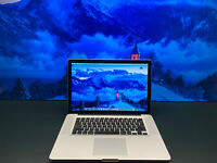 Apple Macbook 15   PRE-RETINA   Intel   8GB RAM   1TB   MacOS 2017