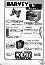 1948 Print Ad of Harvey Radio Company GE Model XFM-1 FM Translator Tech-Master
