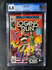 Logan's Run #6 CGC 6.0 (1977) - 1st solo Thanos story
