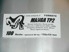 "100 BUSTE WR ""MANGA TP2"" 150x190 mm Berkerk collect Arms Blame Topolino dal 1936"