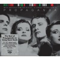 """PROPAGANDA """"BEST OF - NOISE AND GIRLS COME OUT TO PLAY""""  CD NEU"""