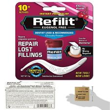 Permanent Dental Cement Filling Tooth Strength Kit Cherry Refill Flavour Repair