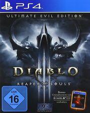 Ps4 jeu Diablo 3 III reaper of souls-ultimate Evil Edition article neuf