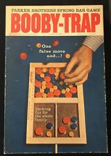 PARKER BROTHERS SPRING BAR GAME BOOBY-TRAP VINTAGE 1965