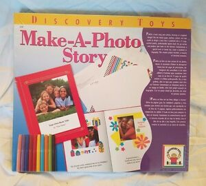 NEW Discovery Toys Make-A-Photo Story Kit (B694)