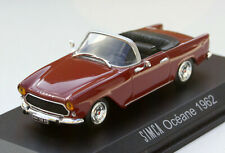 Simca Aronde Océane Cabriolet - Modell Bj. 1957-1963, M. 1:43, rot, neu und OVP