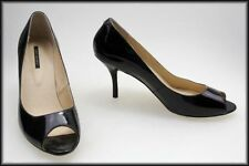 Tony Bianco Patent Leather Open Toe Heels for Women