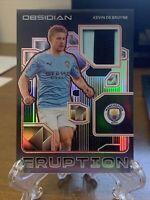 2020-2021 Obsedian Soccer Kevin De Bruyne Patch 4/5 Manchester City
