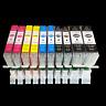 10x Drucker Patrone für Canon PIXMA IP7250 IP8750 MG7550 MG5650 MG5655 MG6650