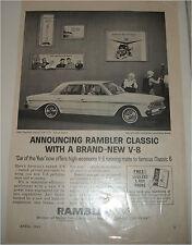 1963 AMC Rambler Classic 4 dr sedan car ad