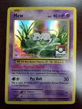 Pokemon Mew 4th Place Holo League Challenge PROMO 53/108