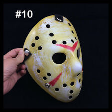 New Halloween Mask Old Jason Voorhees Friday The 13th Horror Movie Hockey Masks