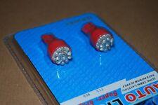 COPPIA LAMPADINE AUTO T15 W16W 9 LED LUCE ROSSA 12 VOLT