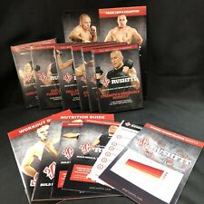 4 Georges St Pierre Rushfit Dvd's exercise fitness strength gym body fat health