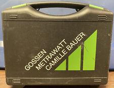 Gossen Metrawatt Metrahit Pro Multimeter 16