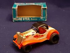 T.N Lever Action MG Roadster Series Tin Toy Model Car in Originl Box Hong Kong