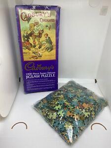 Cadburys Super Deluxe Jigsaw 1000 Piece Vintage Jigsaw
