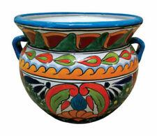 Avera APG023130 Talavera Michoacana Planter Ceramic Multicolored