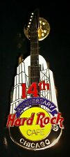 Hard Rock Cafe Chicago 14Th Anniversary 2000 Pin