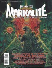 Markalite Magazine # 1 Kaiju Godzilla vs Biollante, Sonny Chiba 10.0Gem Mint New
