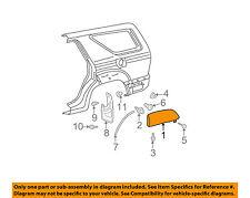 TOYOTA OEM 06-09 4Runner Wheel Well-Fender Flare Arch Molding Right 7565335100D0