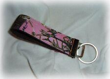 mossy oak break up hot pink real tree camo camouflage key chain keys fob chic