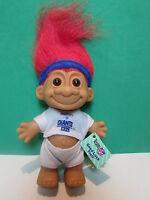 "NEW YORK GIANTS NFL SPORTS TROLL - 5"" Russ Troll Doll - NEW IN ORIGINAL WRAPPER"