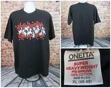 Oneita  Walt Disney 101 Dalmatians movie  Men T Shirt Size XL 46/48 Black