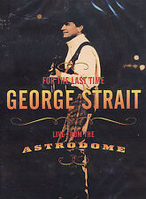 George Strait-For the Last Time: Live From the Astrodome (DVD, 2003) GREAT SHAPE