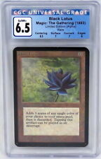 Magic The Gathering MTG Limited Edition Alpha Black Lotus Card Graded CGC 6.5