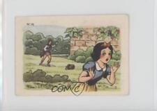 1939 Chocolat Menier Blanche-Neige et les Sept Nains #15 Snow White Card k5c